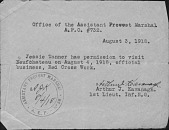 view American Expeditionary Forces Documents digital asset: American Expeditionary Forces Documents