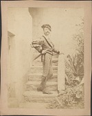 view Photographs of Elihu Vedder and George Simonds in Costume digital asset: Photographs of Elihu Vedder and George Simonds in Costume