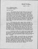 view John Weatherwax papers relating to Frida Kahlo and Diego Rivera digital asset: Correspondence regarding the Popol Vuh Manuscript