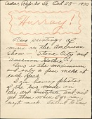 view Letters to Mrs. Henry Ness [Zenobia B. Ness] digital asset: Letters to Mrs. Henry Ness [Zenobia B. Ness]
