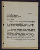 view Letter to Dr. Carl F. Hansen from Homer W. Carhart digital asset: Letter to Dr. Carl F. Hansen