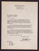 view Letter to Mrs. Elaine M. Kilbourne from Carl F. Hansen digital asset: Letter to Mrs. Elaine M. Kilbourne