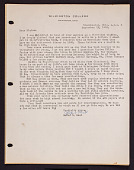 view Letter to Elaine Kilbourne from Wilmington College digital asset: Letter to Elaine Kilbourne
