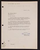 view Letter to Mrs.  Elaine M. Kilbourne from Chemistry publication digital asset: Letter to Mrs. Elaine M. Kilbourne