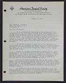 view Letter to Mrs. Elaine M. Kilbourne digital asset: Letter to Mrs. Elaine M. Kilbourne
