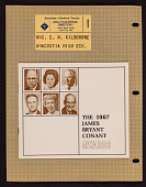 view The 1967 James Bryant Conant Awards  booklet and  visitor ticket digital asset: The 1967 James Bryant Conant Awards booklet and visitor ticket