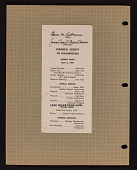 view Chemical Society of Washington Dinner Ticket digital asset: Chemical Society of Washington Dinner Ticket