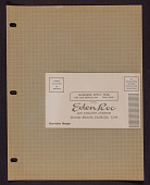 view Eden Roc Hotel letterhead, envelope, and postcard digital asset: Eden Roc Hotel letterhead,  envelope, and postcard