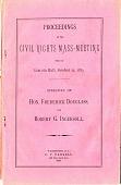 view Speech before the Civil Rights Mass Meeting held at Lincoln Hall, Hon. Frederick Douglass, and Robert G. Ingersoll digital asset: Speech before the Civil Rights Mass Meeting held at Lincoln Hall, Hon. Frederick Douglass, and Robert G. Ingersoll