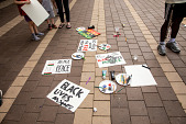 "view ""Black Lives Matter"" signs and art supplies digital asset: ""Black Lives Matter"" signs and art supplies"