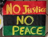 "view ""No Justice No Peace"" sign digital asset: ""No Justice No Peace"" sign"