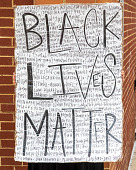 view Black Lives Matter sign digital asset: Black Lives Matter sign