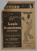 "view Program, ""Louis Armstrong"" digital asset: Program, ""Louis Armstrong"""