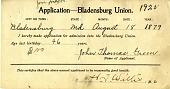 view Applications, Bladensburg Union digital asset: Applications, Bladensburg Union