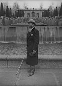view James Stewart pose in front of water fountain digital asset: James Stewart
