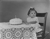 view Baby Young first birthday digital asset: Baby Young first birthday
