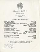 view Lillian Evanti Coloratura Soprano, John Hoskins at the piano Union of American Republics digital asset: Lillian Evanti Coloratura Soprano, John Hoskins at the piano Union of American Republics