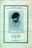 view Miss Lillian Evans, pupil of Miss Lulu Vere Childers digital asset: Miss Lillian Evans, pupil of Miss Lulu Vere Childers