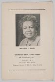 view Mrs. Rosa L. Gragg obituary digital asset: Mrs. Rosa L. Gragg obituary