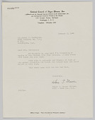 view Correspondence from National Council of Negro Women, Inc., to Mrs. Mabel H. Covington digital asset: Correspondence from National Council of Negro Women, Inc., to Mrs. Mabel H. Covington