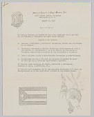 view Welcome letter in Spanish from the National Council of Negro Women, Inc. digital asset: Welcome  letter in Spanish from the National Council of Negro Women, Inc., listing the objectives of the council