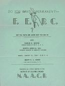 view Do You Want a Permanent F.E.P.C., ? digital asset: Do You Want a Permanent F.E.P.C., ?, flyer
