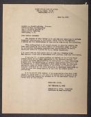 view Letter to Senator J. Howard McGrath from Tomlinson D. Todd digital asset: Letter from Todd to Senator   J. Howard McGrath