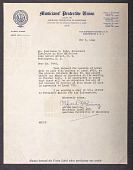view Letter to Tomlinson D. Todd  from Alfred Manning digital asset: Letter from Alfred Manning to Todd