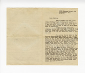 view Letter to Bobbie from  Blanche digital asset: Letter to Bobbie from  Blanche