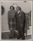view Percival Bryan pose with unidentified woman digital asset: Percival Bryan pose with unidentified woman