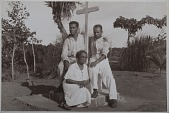 view Shrine of an Angola deity and members of an Angola cult digital asset: Shrine of an Angola deity and members of an Angola cult