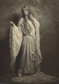view Lillian Evanti wears opera costume from Lucia di Lammermour. digital asset: Lillian Evanti in opera costume