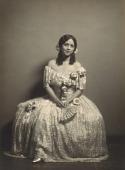 view Lillian Evanti wears opera costume from La Traviata digital asset: Lillian Evanti in opera costume