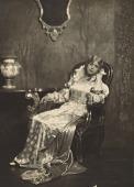 view Lillian Evanti wears opera costume from Rigoletto. digital asset: Lillian Evanti in opera costume