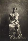 view Lillian Evanti wears opera costume from Rigoletto digital asset: Lillian Evanti in opera costume
