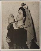view Lillian Evanti pose with parrot digital asset: Lillian Evanti pose with parrot
