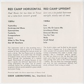 view COOK01089: Red Camp, Red Camp Upright digital asset: COOK01089: Red Camp, Red Camp Upright
