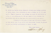 view Allen, Horace N. digital asset: Letters between Charles Lang Freer and Horace Newton Allen