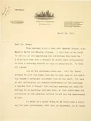 view Walcott, Charles D. digital asset: Letters between Charles Lang Freer and Charles D. Walcott