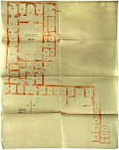 view Excavation of Samarra (Iraq): Seven Ground Plans of Private Houses Containing the Locations of Wall Ornamentation digital asset: Excavation of Samarra (Iraq): Seven Ground Plans of Private Houses Containing the Locations of Wall Ornamentation [drawing]