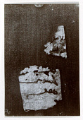 view Excavation of Samarra (Iraq): Photographs of a Firebrick with Inscription; Two Remnants of Paper and several Papyri digital asset: Excavation of Samarra (Iraq): Photographs of a Firebrick with Inscription; Two Remnants of Paper and several Papyri
