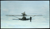 """view Slide 6: Dornier Do J Wal """"N25"""" at rest on the ice digital asset: Slide 6: Dornier Do J Wal """"N25"""" at rest on the ice"""