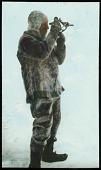 view Slide 12: Roald Amundsen siting with bulb sextant digital asset: Slide 12: Roald Amundsen siting with bulb sextant