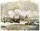 """view Photograph of the Boeing B-29 Superfortress """"Enola Gay"""" at Tinian digital asset: Photograph of the Boeing B-29 Superfortress """"Enola Gay"""" at Tinian"""