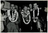 view Earhart, Amelia Mary, 1930s; Noonan, Fred; Mantz, Paul digital asset: Earhart, Amelia Mary, 1930s; Noonan, Fred; Mantz, Paul