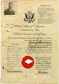 view Lawrence Burst Sperry Passport digital asset: Lawrence Burst Sperry Passport