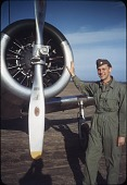 view James Kirkpatrick World War II Color Slides and Log Book digital asset: Training