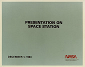 view National Aeronautics and Space Administration (NASA) Space Station Freedom Viewgraph Presentation digital asset: National Aeronautics and Space Administration (NASA) Space Station Freedom Viewgraph Presentation