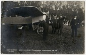 view 9 photographic postcards of early aircraft digital asset: 9 photographic postcards of early aircraft