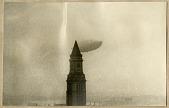 """view Airship LZ 129 Hindenburg over New York City, May 19, 1937 [?] – 5 photographs [The airship Hindenburg was destroyed on May 6, 1937] digital asset: Airship LZ 129 """"Hindenburg"""" over New York City, May 19, 1937 [?] – 5 photographs [The airship """"Hindenburg"""" was destroyed on May 6, 1937]"""